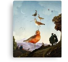 Spring Stacking of the Birds Canvas Print