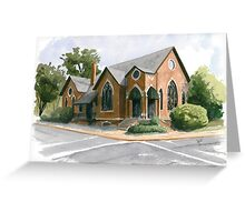 Church Street Church Greeting Card