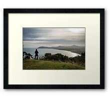 Killiney Lookout Framed Print