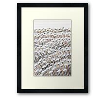 Perfect Pastels - Field Of Daisies Framed Print