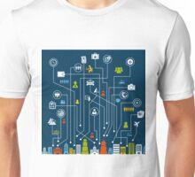 Travel a city Unisex T-Shirt