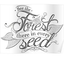 Typography - Inspirational Quote Poster