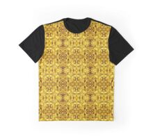 500. Golden Illusion Graphic T-Shirt