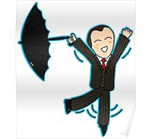 Mycroft & His Brolly Poster