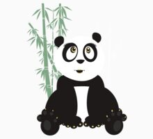 Panda Girl - Green Kids Clothes