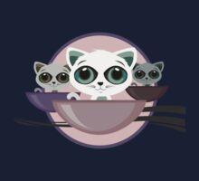 Kittens in a bowl Kids Tee
