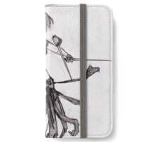 female fighter iPhone Wallet/Case/Skin