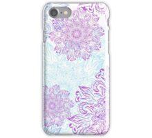 Fresh and elegant mandala pattern iPhone Case/Skin