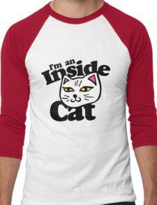 I'm an Inside Cat Men's Baseball ¾ T-Shirt