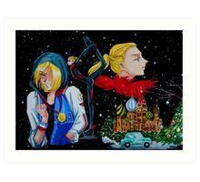 Yuri Plisetsky from Yuri on Ice fanart Art Print