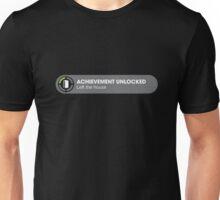 Achievement Unlocked: Left the House Unisex T-Shirt