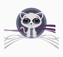 Kitten - Purple One Piece - Short Sleeve