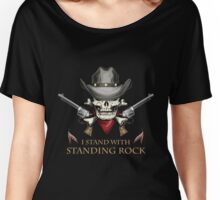 Standing rock - vintage skull !! Women's Relaxed Fit T-Shirt