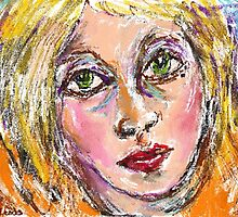 Face 2  by Janette  Leeds
