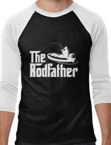 The Rodfather Fishing T Shirt Men's Baseball ¾ T-Shirt