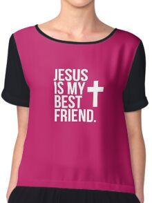 Jesus Is My Best Friend Chiffon Top