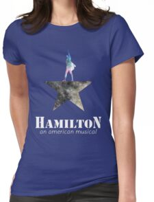 hamilton the musical Womens Fitted T-Shirt