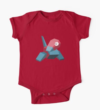 Porygon One Piece - Short Sleeve