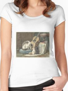 Must Love Cats Women's Fitted Scoop T-Shirt