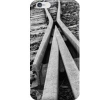 Rails to Nowhere iPhone Case/Skin