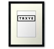 TRXYE Framed Print