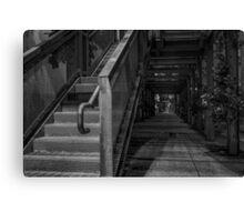 Silo Park Stairs Canvas Print