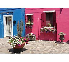 Colors of Burano 3 Photographic Print