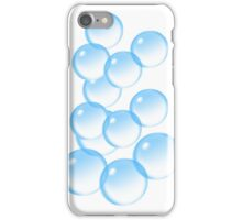 Bubbles, Bubble, I'm forever blowing Bubbles, Football, Soccer, team iPhone Case/Skin