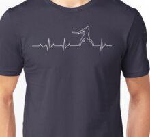 Baseball Heartbeat T-shirt & Hoodie Unisex T-Shirt