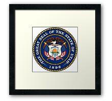Utah seal Framed Print