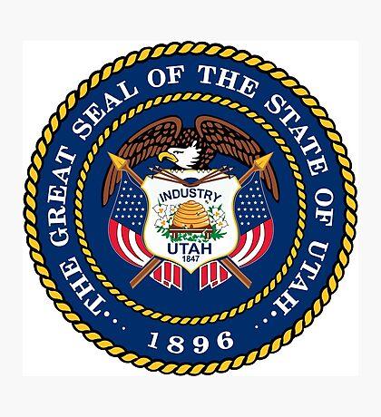 Utah seal Photographic Print