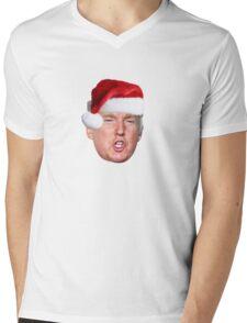 Trump Santa Mens V-Neck T-Shirt