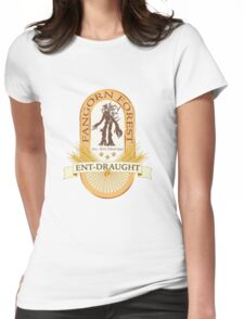 Ent-Draught Beer label Womens Fitted T-Shirt