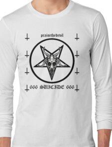 Satanic Suicide Long Sleeve T-Shirt