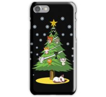 Christmas Cats Tree Decoration Holiday Gift T-Shirt iPhone Case/Skin