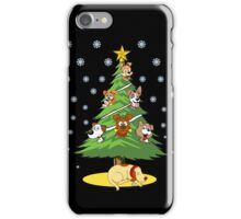 Christmas Dogs Tree Decoration Holiday Gift T-Shirt iPhone Case/Skin