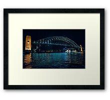 Seagulls over the Harbour Bridge Framed Print
