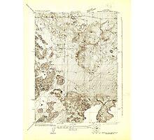 USGS TOPO Map California CA Shasta Valley Sheet No 10 295150 1922 24000 geo Photographic Print