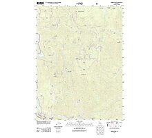 USGS TOPO Map California CA Somes Bar 20120404 TM geo Photographic Print