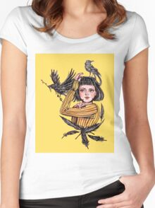 Fight Your Fears Women's Fitted Scoop T-Shirt