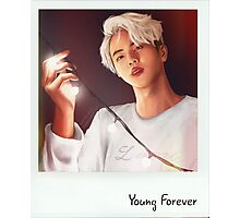 Jin - Young Forever Polaroid Photographic Print