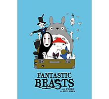 Fantastic Ghibli Photographic Print