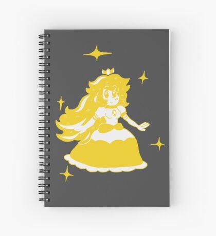 Golden Peachy Spiral Notebook