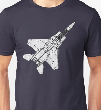 F15 Eagle Fighter Plane Unisex T-Shirt