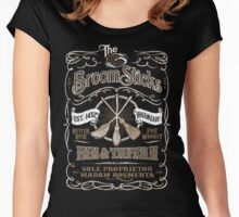 The Three Broomsticks Inn & Tavern Women's Fitted Scoop T-Shirt