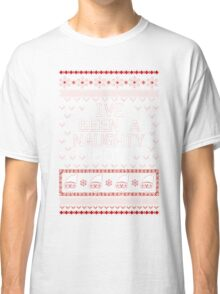 UGLY CHRISTMAS SWEATER - NAUGHTY BOY Classic T-Shirt