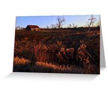 Old Tobacco Barn, Kentucky Farm Greeting Card