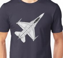 F16 Fighter Aircraft Unisex T-Shirt