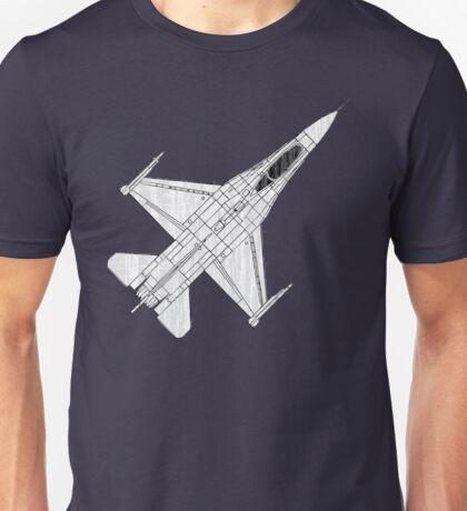 F16 Fighter Aircraft Unisex T-Shirt