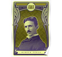 Nikola Tesla's Electric Mind Poster